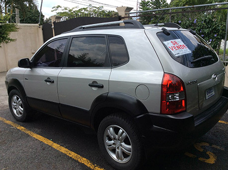 Hyundai Tucson CRDi 2007 Used very little - click to view more pictures